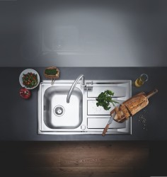(6) Kitchen Design from a Single Source GROHE Sets Holistic Design Accents with Its New Kitchen Sink