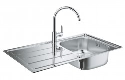 (2) Kitchen Design from a Single Source GROHE Sets Holistic Design Accents with Its New Kitchen Sink