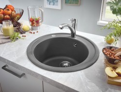 GROHE Kitchen Solutions Composite Sinks_Granite Gray_Milieu_2.jpg