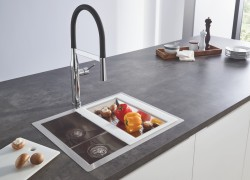 (3) Kitchen Design from a Single Source GROHE Sets Holistic Design Accents with Its New Kitchen Sink