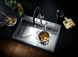(5) Kitchen Design from a Single Source GROHE Sets Holistic Design Accents with Its New Kitchen Sink