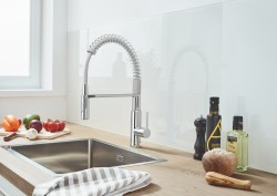 (4) Kitchen Design from a Single Source GROHE Sets Holistic Design Accents with Its New Kitchen Sink