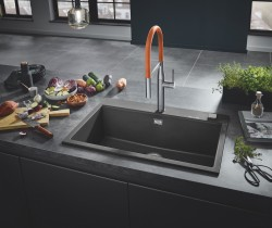 GROHE Kitchen Solutions Composite Sinks_Granite Gray_Milieu_1.jpg